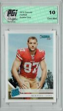 Nick Bosa 2019 Donruss Football #318 Gem Mint Rookie Card PGI 10