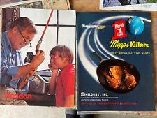 1971-1972 Mepps Fishermans Guide Sales Brochure Catalog And Heddon Sales Catalog