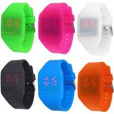 Tiempo de parpadeo LED Táctil Operado Reloj-medio/grande tamaño de la muñeca-Varios Colores