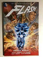 THE FLASH volume 7 Savage World (2016) DC Comics TPB 1st FINE