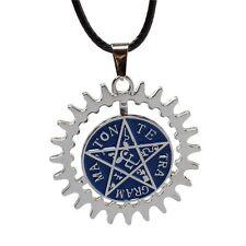 1pc Anime Black ButlerKuroshitsuji Ciel Covenant Sign Metal Necklace Pendant
