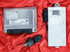 BMW E60 E61 5'es 2.0i M54 ENGINE DME MS45.0 CAS IGNITION KEY LOCK BARREL ECU SET