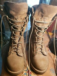DANNER MILITARY COMBAT SUEDE LEATHER MOJAVE BOOTS..#35220. SZ 10D 🇺🇸