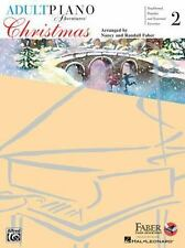 Adult Piano Adventures Christmas - Book 2 Book & Online Audio, Faber, Nancy, Fab