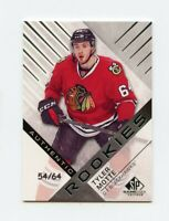 16/17 SP GAME-USED SPGU ROOKIE RC #161 TYLER MOTTE 54/64 BLACKHAWKS