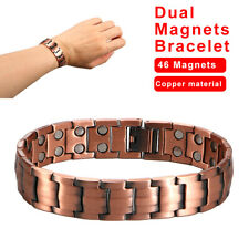 Quality Magnetic Therapy Bracelet Pure Copper Bangle Not deformed Men Women