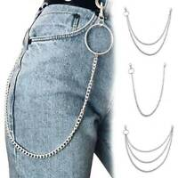 Mens Bicycle Trouser Pant Chain Wallet Chain Biker Trucker Punk Charm Jeans UK