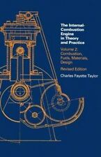 The Internal Combustion Engine in Theory and Practice: Vol. 1 - 2nd Edition, Re