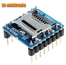 WTV020 U-Disk Audio Player SD card Voice Module MP3 Voice Module WTV020-SD-16P