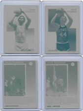 Lot of 4 DAVID THOMPSON 1992 COURTSIDE SET Printing Plates NC STATE 1/1 NUGGETS