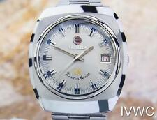 Rado Mannheim Swiss Made Rare Men's Automatic Vintage Watch Circa 1970 Tk13