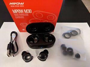 Mpow M30 Wireless Earbuds Bluetooth 5.0 Headphones waterproof