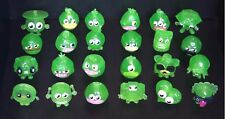 MOSHI MONSTERS Series 2  Green Glitter ☆ Full Set 24 ☆ Lady Goo Goo Blingo Roxy