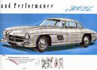 Mercedes Benz Type 300 SL Sales Brochure 1955 US / UK