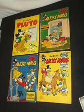 WALT DISNEY MICKY MAUS MICKEY MOUSE COMIC BOOKS GERMAN GERMANY 1960s