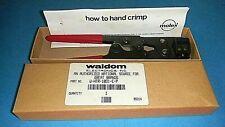 Waldom Molex W Htr 1031 E P Hand Crimping Tool Nos