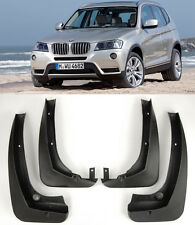 OE 4 Pcs Front Rear Splash Mud Guards Flaps Mudguard Set For 11-15 BMW F25 X3