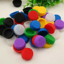 6PCS Silicone Bottle Caps Cover Coke Soda Cola Lid Wine Saver Stopper