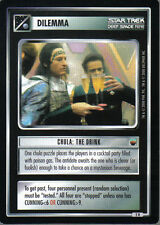 STAR TREK CCG TROUBLE WITH TRIBBLES RARE CARD CHULA: THE DRINK