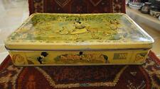 VTG BELGIAN CANDY TIN BOX CONTAINER WALT DISNEY SNOW WHITE AND THE SEVEN DWARFS