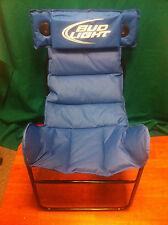 Bud Light Speaker Chair Budweiser - New  Speakers Are In Headrest  RARE