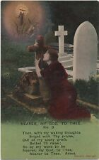 POSTCARD  SONG CARDS  Nearer to my God to thee (3)