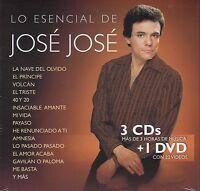 Jose Jose 3CD+1DVD Colecion de canciones mas Videos CAJA DE CARTON New Nuevo