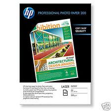 RAMETTE PAPIER HP A4 BRILLANT LASER DF A4 200g CG966A DOUBLE FACE / 100 feuilles