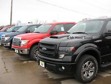 Ford F150 Hood Scoop Kit With Grille Insert By MrHoodScoop Unpainted HS005