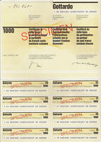 Gotthard Bank AG Lugano  Partiz. Schein 1987 Schweiz Banca d Gottardo BSI Tessin