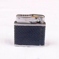 Edwin Super Vintage Petrol Metal Lighter Automatic Black Snake Skin Old Wick