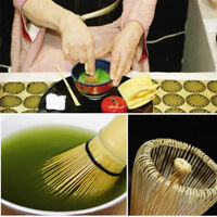 Bamboo Chasen Matcha Powder Whisk Tool f Green/Japanese Tea Ceremony 75-80prongs