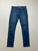 LEVI'S SLIMMING SKINNY Jeans - W31 L32 - Blue - Great Condition - Women's