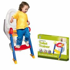 New Baby Toddler Training Toilet Seat Safety Potty Step Ladder Loo Trainer