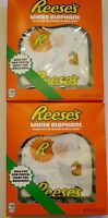 Reese's White Elephant Chocolate Peanut Butter 2-Pack 6 oz/170g each exp 07/2021