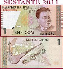 KYRGYZSTAN, KIRGHIZSTAN , KIRGISISTAN  -  1 SOM 1999 - P 15  -  FDS / UNC