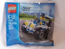 Lego 30228 Police ATV City Town 100% Complete New Sealed FREE SHIPPING