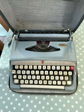 More details for vintage brother de luxe typewriter with case