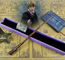 Hot Harry Potter Ron Weasley's Wand Magical Wand in Box Gift Cosplay