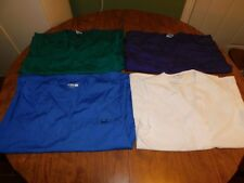 Scrub Tops, Women's, Lot of 4, Size Small, Good Condition, FREE S&H