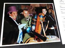 BURGESS MEREDITH, FRANK GORSHIN, LEE MERIWETHER signed Photo BAS psa adam west