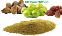 Organic Triphala Powder 500 gm / 1Lb Amla Haritaki Bhibhitaki Churna Triphla