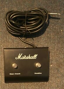 MARSHALL 90010 DUAL FOOTSWITCH MG SERIES, ETC. USED
