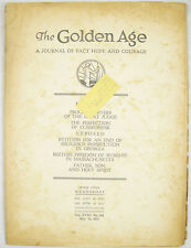 Golden Age Magazine #461 May 19 1937 PHONOGRAPH EXPOSED Watchtower Jehovah