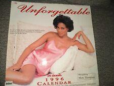 Unforgettable 1996 Year Calendar Women of Color Lela Rochon Vivica A Fox