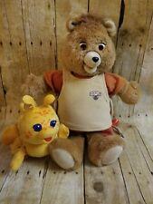 Teddy Ruxpin & Grubby Vintage *Both Working * Teddy's Winter Adventure Tape