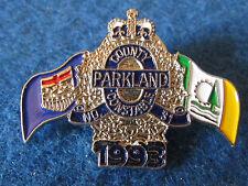 Enamel Police Badge - County Parkland Constable No 31 - 1993
