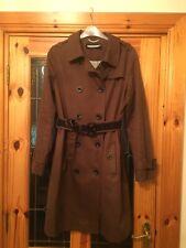 Ladies Brown Mac Coat Kookai U.K. 12.