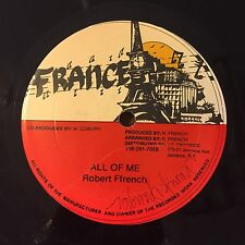 """ROBERT FRENCH All Of Me/COPPER RANKS Talk Too Much 12"""" Digital Reggae FRANCE"""