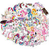 100Pc Unicorn Style Graffiti Stickers Car Laptop Skateboard Luggage Vinyl Decals